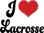 I Heart Lacrosse T-shirts and Gifts