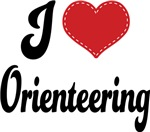 I Heart Orienteering T-shirts and Gifts
