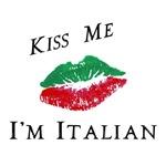 Kiss Me I'm Italian Love