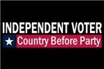 Independent Voter Blue