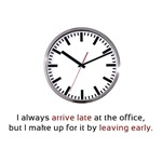 I'm Always Late to Work
