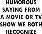 Humorous Saying