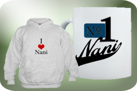 T-Shirts and Gifts for Nani