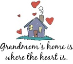Grandmom's Home is Where the Heart Is