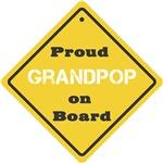 Proud Grandpop on Board