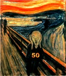 Edvard Munch, The Scream 50th Birthday Gifts!