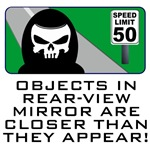 Rear-View Mirror, Grim View Gifts!
