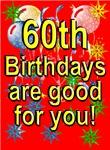 60th Birthday Cards & Invitations.