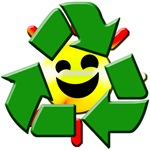 Recycle Smiley Sun T-Shirts and Gifts!