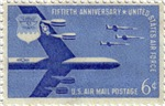 Air Force Postage Stamp (1957)