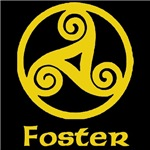 Foster Celtic Knot (Gold)
