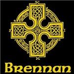 Brennan Celtic Cross (Gold)