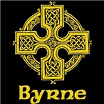 Byrne Celtic Cross (Gold)