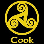 Cook Celtic Knot (Gold)