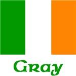 Gray Irish Flag