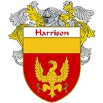 Harrison Coat of Arms (Mantled)