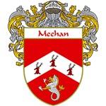 Meehan Coat of Arms (Mantled)