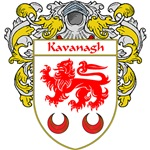 Kavanagh Coat of Arms (mantled)