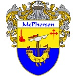 McPherson Coat of Arms (Mantled)