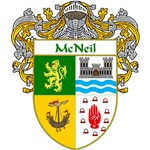 McNeil Coat of Arms (Mantled)