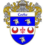 Cooke Coat of Arms (Mantled)