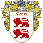 Clancy Coat of Arms (Mantled)