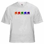 5 Color Bulldog Silhouttes