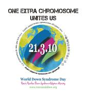 21.3.10 World Down Syndrome Day
