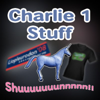 Original Charlie Cartoon Merch