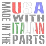 Made in the USA Using Italian Parts