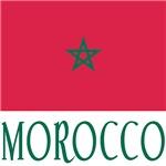 Moroccan Flag and Morocco