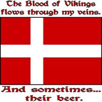 Danish Vikings and Beer
