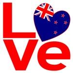 New Zealander Red LOVE