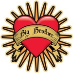 Big Brother Tattoo Heart T-shirts Gifts