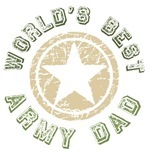 World's Best Army Dad T-shirts Gifts