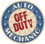 Off Duty Auto Mechanic T-shirts Gifts