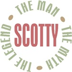 Scotty the Man the Myth the Legend T-shirts Gifts