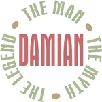 Damian the man the myth the legend T-shirts Gifts