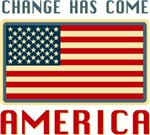 Change has Come America Obama T-shirts Gifts