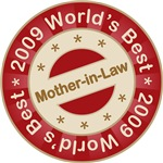 2009 World's Best Mother-in-Law Tees Gifts