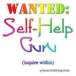 Self-Help Guru in Black or Color
