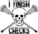 Lacrosse Finish Checks