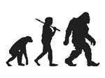 Evolution of Bigfoot