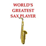 a funny saxophone joke on gifts and t-shirts.