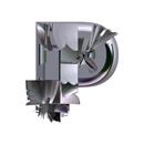 Heavy Metal initial letter P monogram
