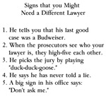 Lawyer Joke T-shirts and Gifts