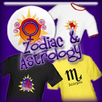 Zodiac & Astrology T-shirts and Gifts