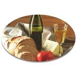 Bread, Tomato, Cheese & Wine