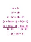 Bad Algebra - Goodies