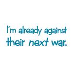 Already Against War - Apparel